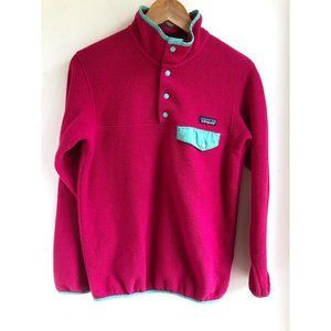 PATAGONIA | Synchilla Snap-T Pink Fleece AS IS